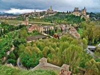 Segovia desde el aire