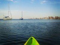 Starting our kayak tour