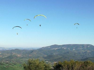 Parapente en Montellano con vídeo y fotos 45 min
