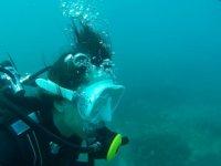Buceo desde Mazagon en aguas de Tarifa