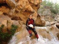 在Jucar峡谷