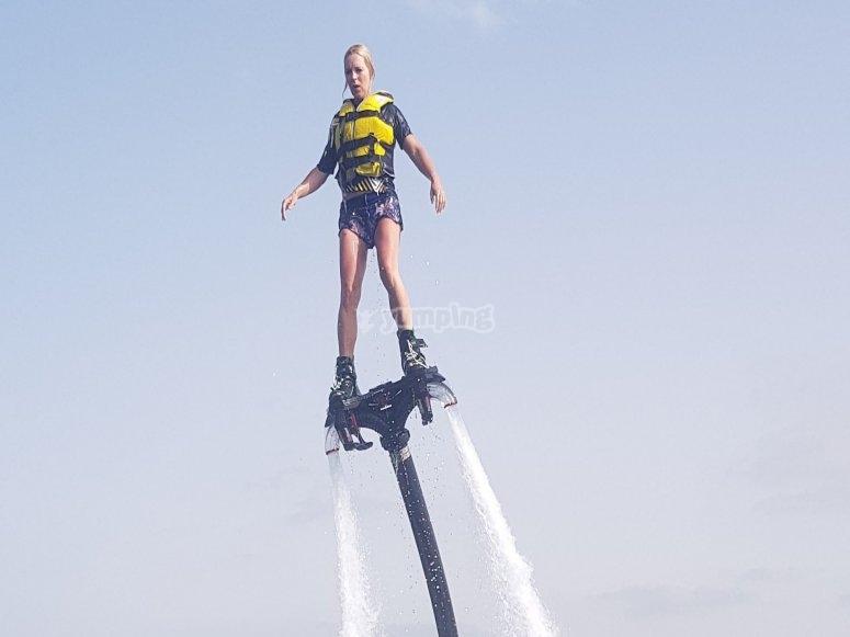 Flyboard en Javea