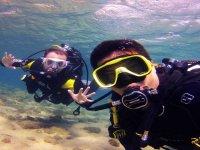 Battesimo di immersioni sulla costa di Gran Canaria