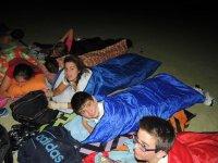 晚上Tertulia晚上露营