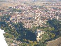Vista completa de Segovia