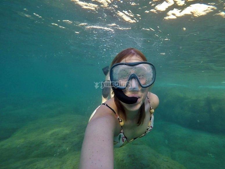 Snorkel en Puerto de Mogán