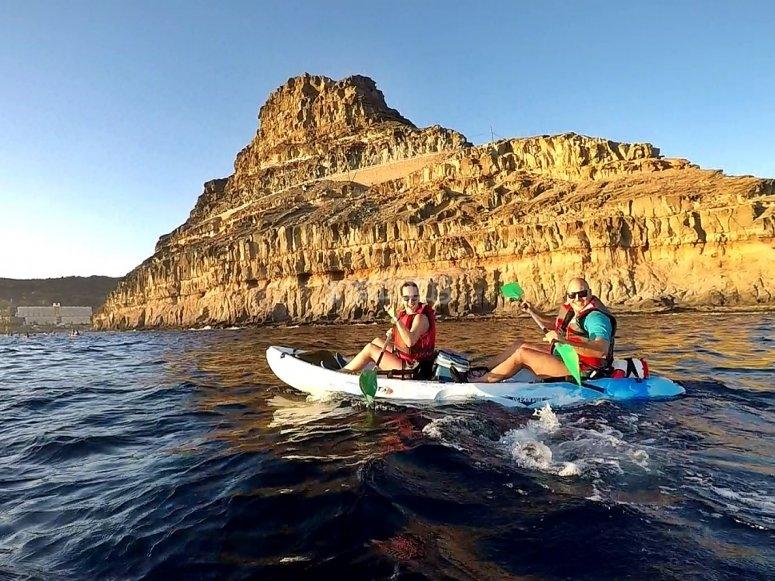 Travesía en Kayak Mogán - Tiritaña