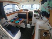 ruta en el barco