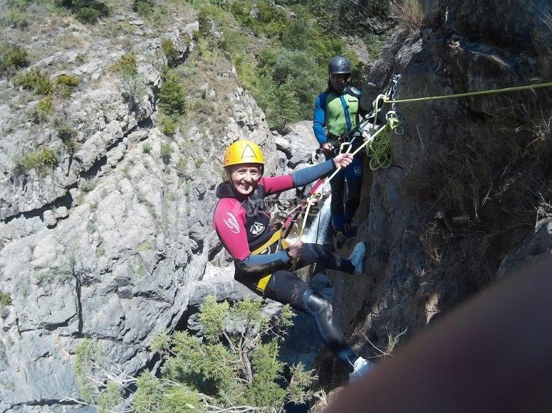 15-meter rappel