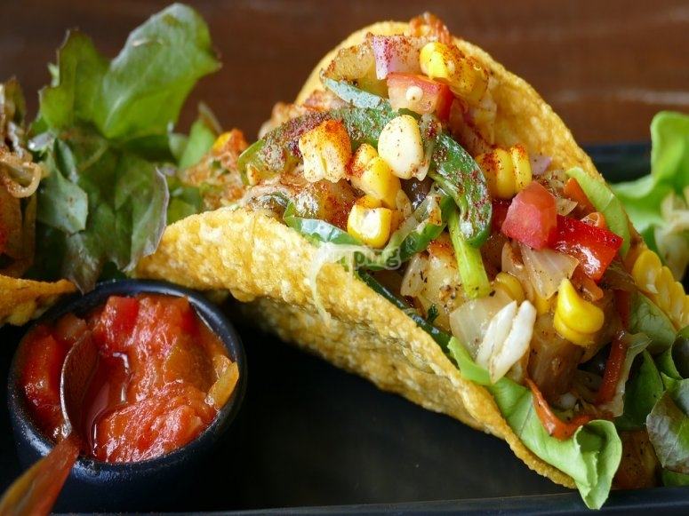 Exquisite Mexican taco