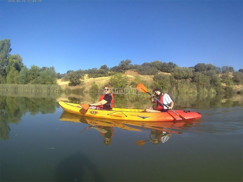 Discover Jaén with a kayak route