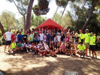 Campamento de actividades de ocio activo