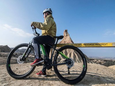 Bicycle rental for children in Bardenas 1 day