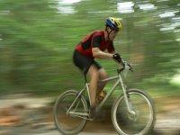 自行车之旅享受山
