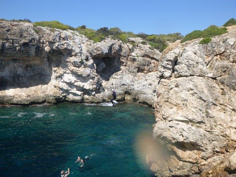 salto en coasteering
