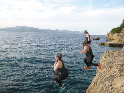 Coasteering en Palma de Mallorca media jornada