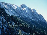 Sierra del Pinar nevado