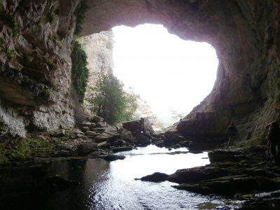 爬上Los Chorros洞穴和Mundo河,4小时