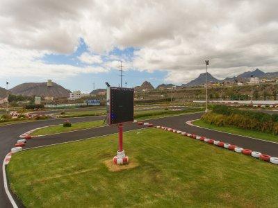 Tanda de super kart en Tenerife 9 vueltas
