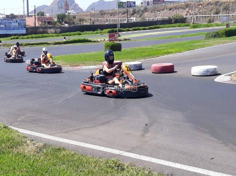Karting de 200cc para jóvenes