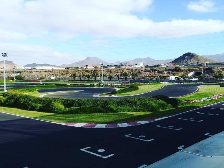 Circuito de karting Parque La Reina