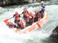 Rafting Noguera Pallaresa 14km
