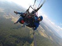 Vuelo parapente biplaza y vídeo HD o 360º Segovia