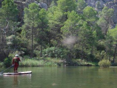 Rafting y SUP en tramo de Tamayo y noche en tipis
