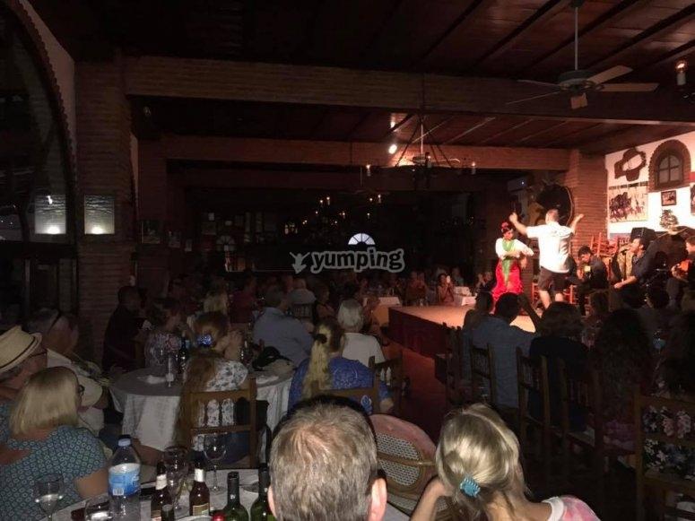 Flamenco en espanola noche