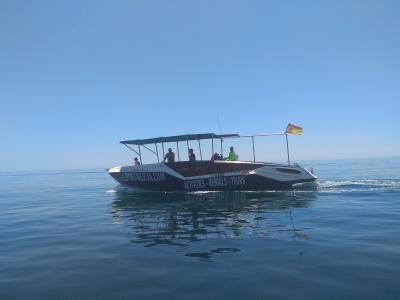 Paseo en barco Playa del Playazo con patrón