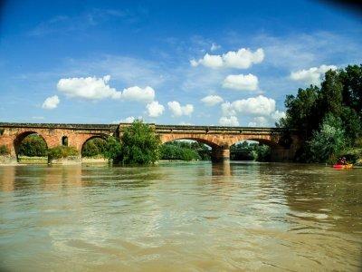 Ruta en Kayak en el Guadalquivir hasta la Ropera