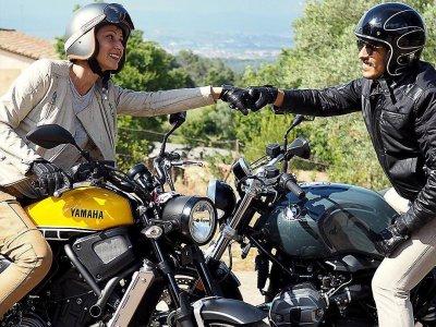 Vintage Motorbike Route, Garraf Park