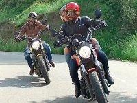 Meet Monserrat with a bike
