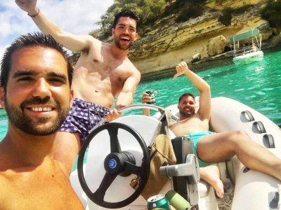 Alquiler barco sin licencia para grupos Portixol