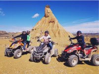 Girls on the quads in Castil de la Tierra