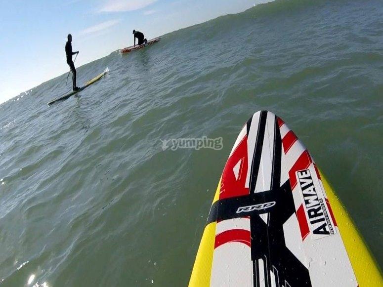 划桨冲浪冲浪者