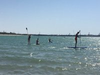Travesia de paddle surf por Cadiz