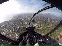 Cuadro de mandos del helicóptero