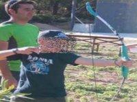 tiro con arco para niños