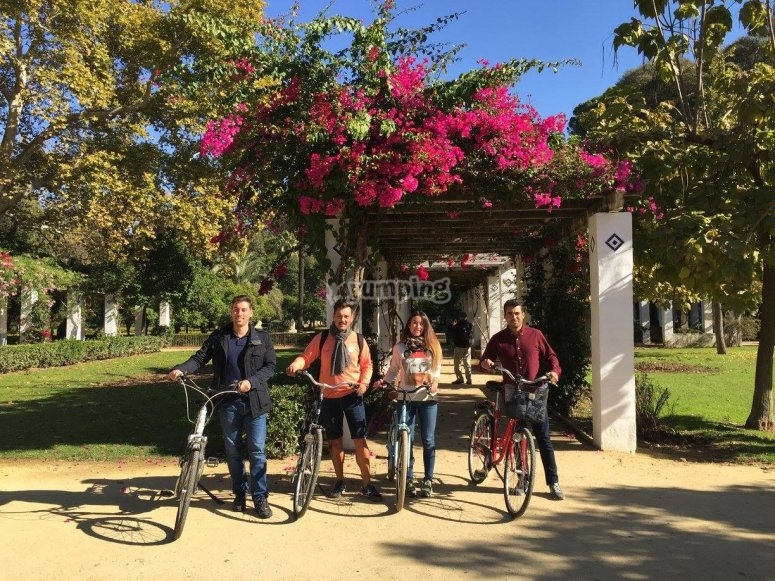 Bike tour throughout the capital of Andalucia