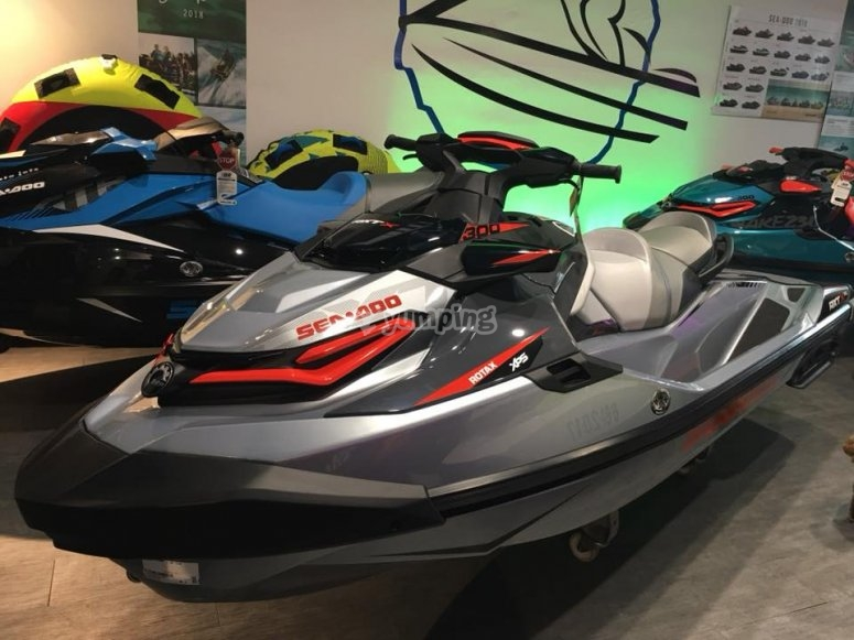 Seadoo ready for excursions