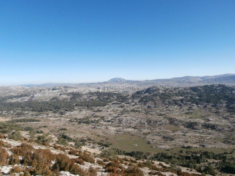 vistas desde la cima