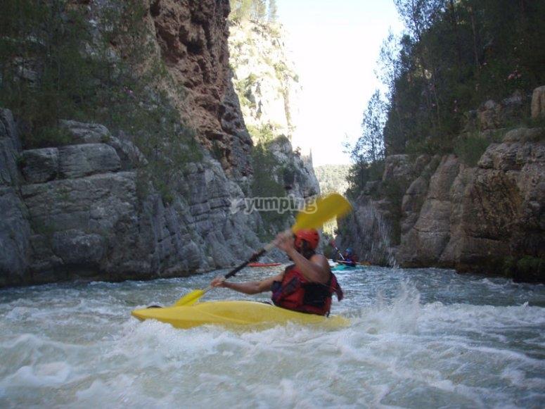 Kayak en Tamano