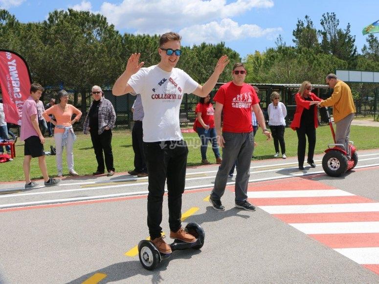 Alquila tu hoverboard en Sabadell