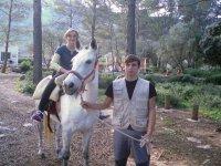 Con nuestros caballos