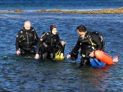 Cabo de Gata的开放水域课程