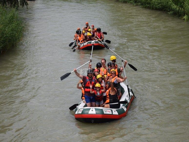 dos rafts seguidos