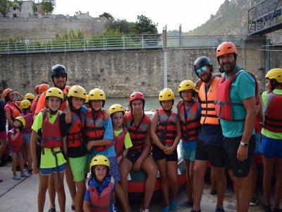 RíoSegura的学校漂流3:30h