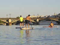 Touring the Guadalquivir in paddle surf