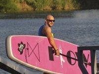 Listos para una tarde de paddle surf